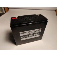 FPV-POWER 12v 25Ah LiFePO4 with 5A Charger